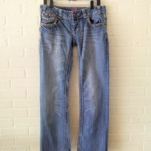 5/$25 Rock and Roll Cowgirl Low Rise Jeans 30x34